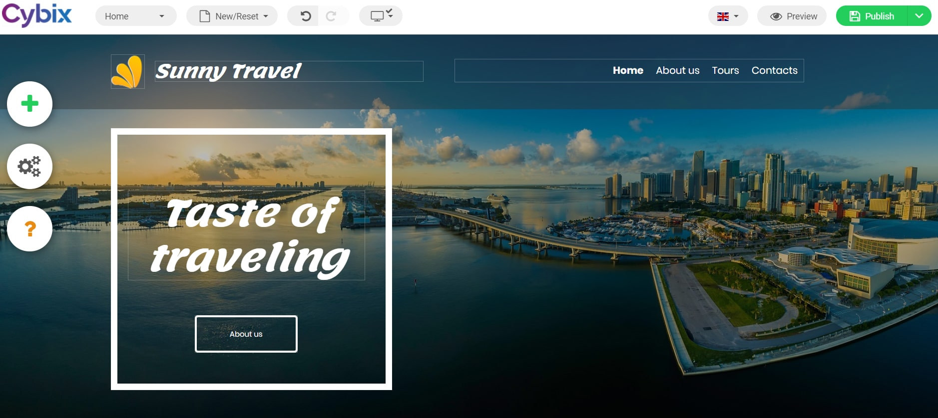 Traveling Template