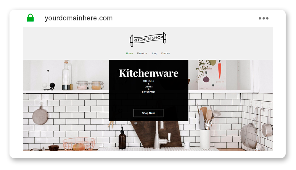 Kitchenware Template
